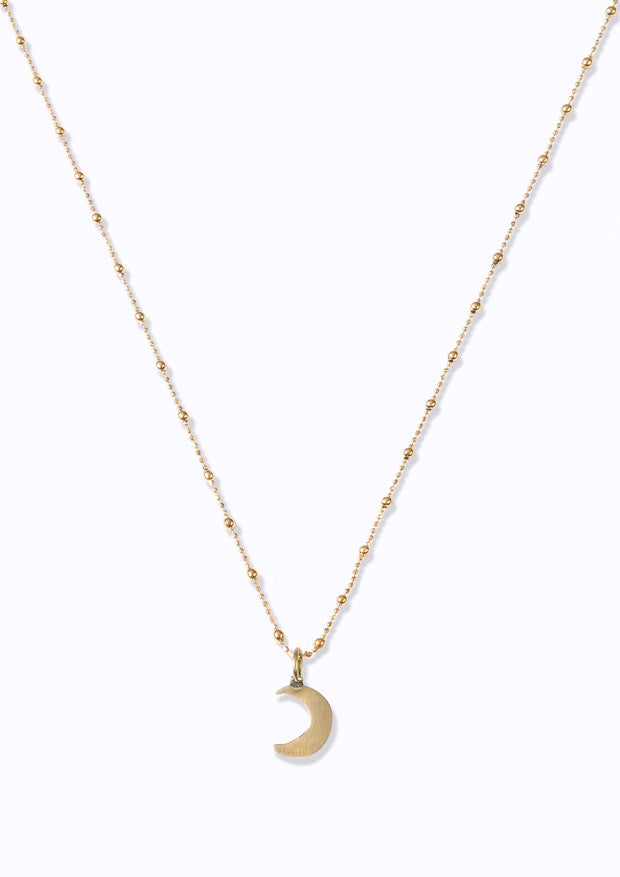 Soul | Mini Moon Necklace