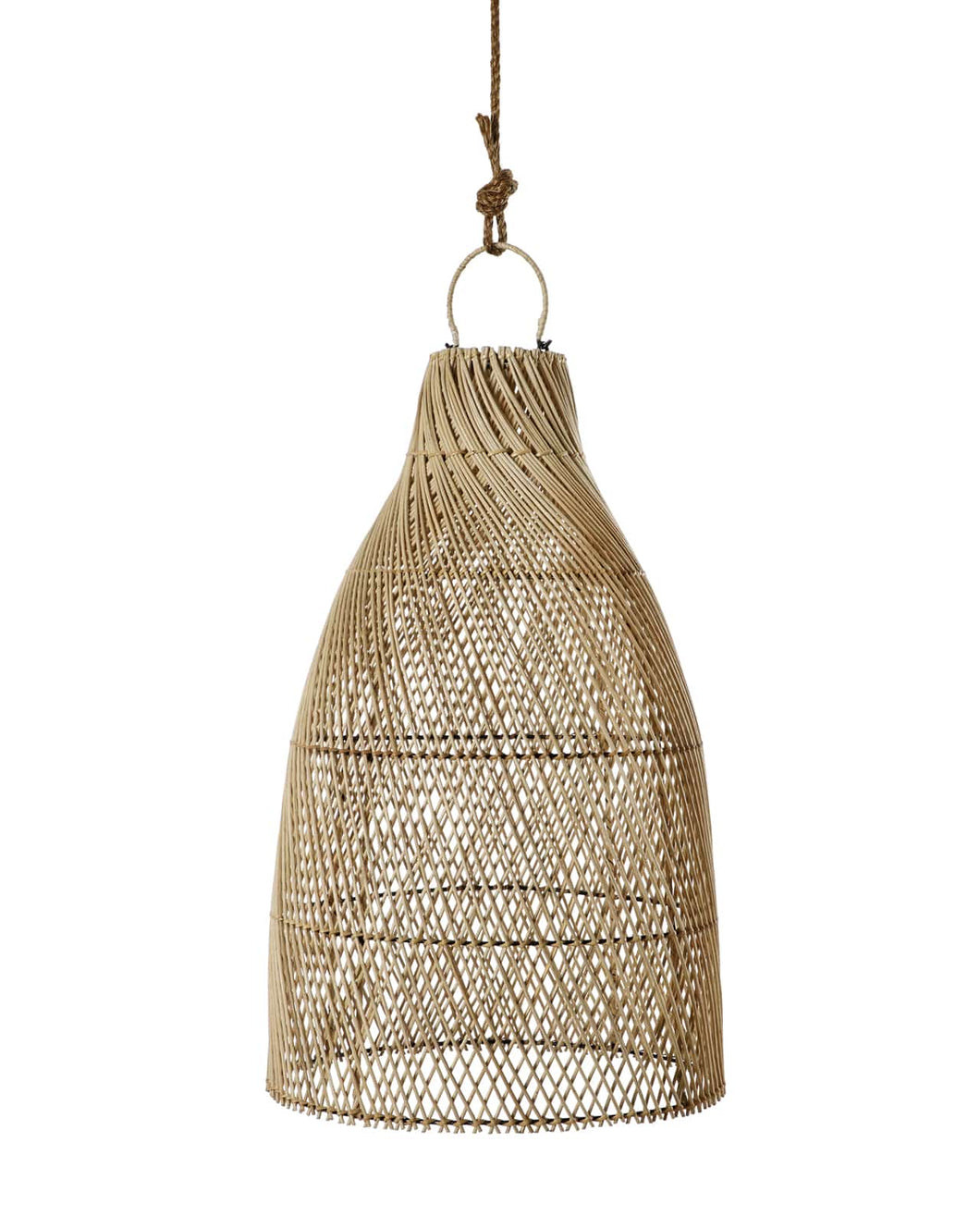 Pilgrimage Spaces | Natural Long Bamboo Pendant