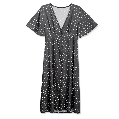 Jamie Dress | Polka Dot Midi Dress