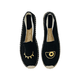 Say No More Espadrilles | Black