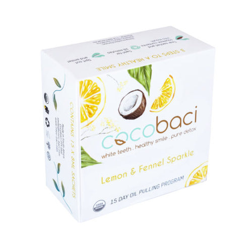 Cocobaci | 15 Day Smile Therapy Pack | Lemon Sparkle
