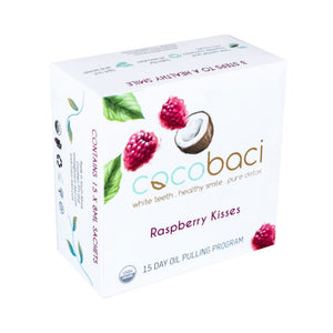 Cocobaci | 15 Day Smile Therapy Pack | Raspberry Kisses