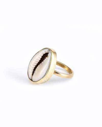 Soul | Cowrie Shell Ring