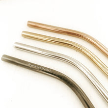 Stainless Steel Straws | Bent