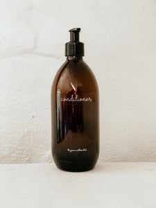 Amber Bottle | Conditioner