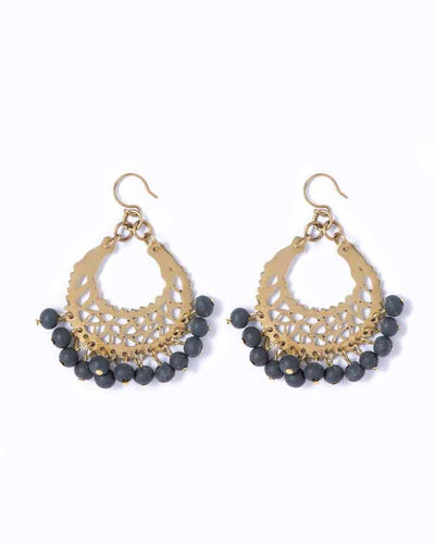Soul | Ebony Marrakesh Earrings