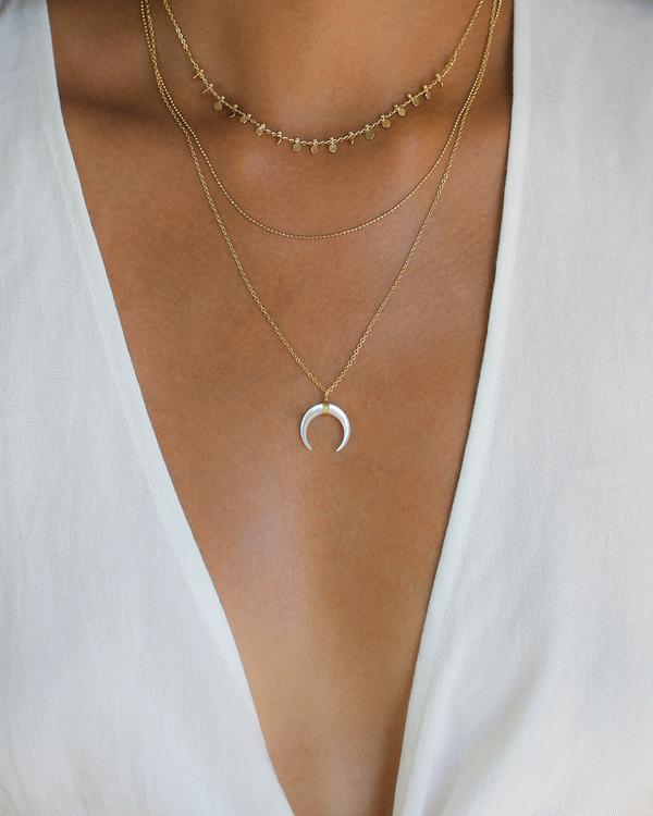 See Why Miami Moon Necklace