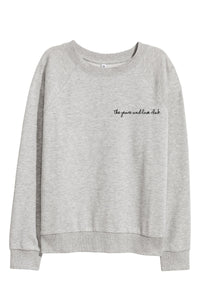 Yoga Sweater | Grey