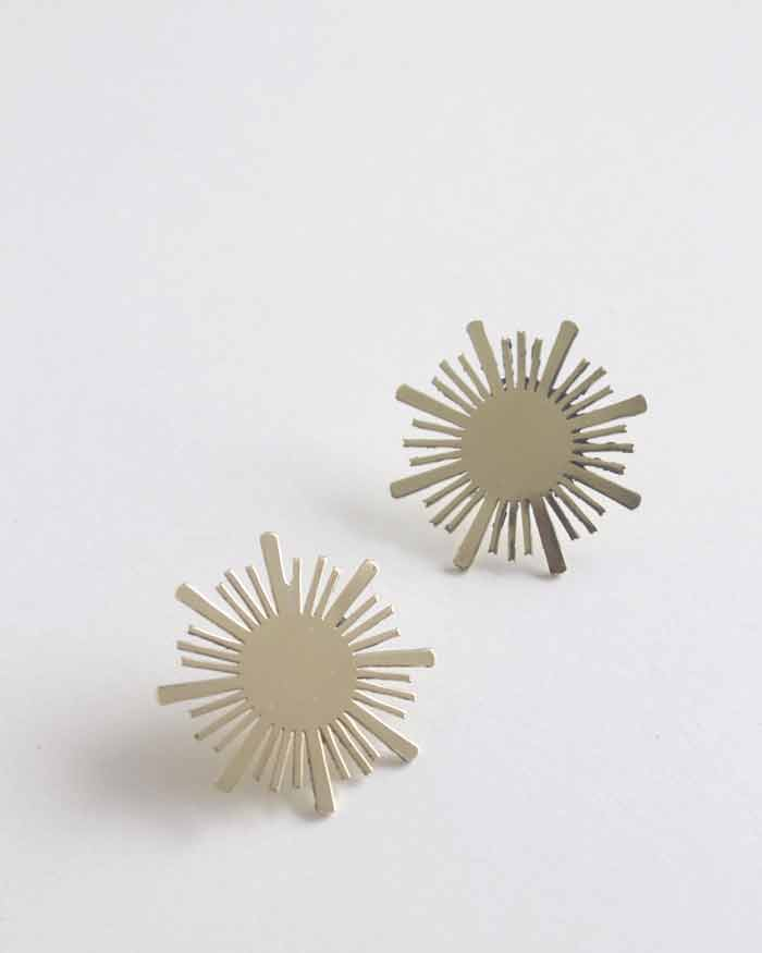 Yellow | Superstar Earrings