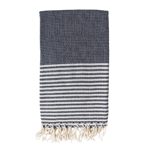 Willow Beach Throw | Charcoal