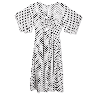 Jayne Polka Dot Midi Dress