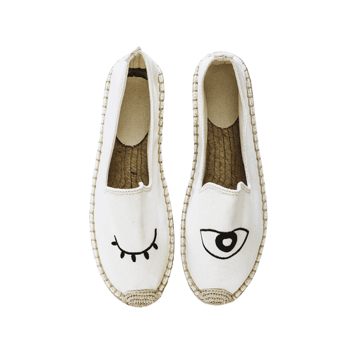 Say No More Espadrilles | White