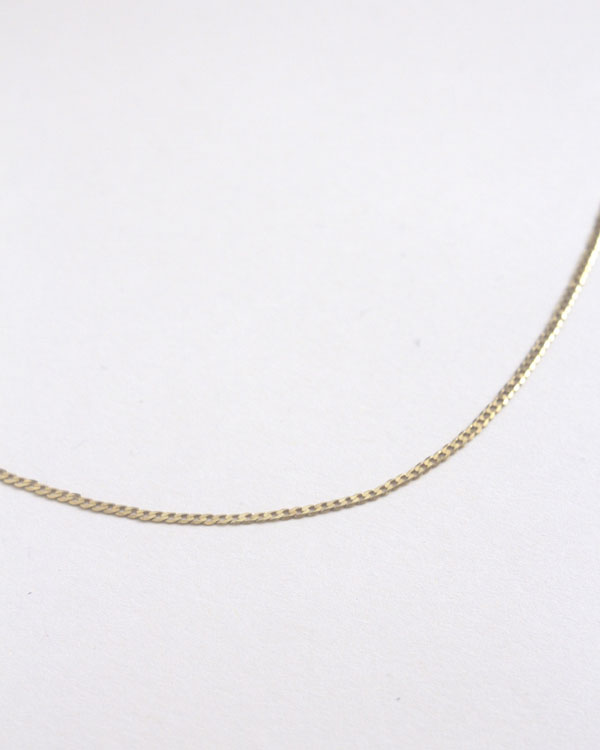 Yellow | 18ct Gold Chain Necklace