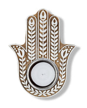Pilgrimage Spaces  | Hamsa Hand Tea Light Holder