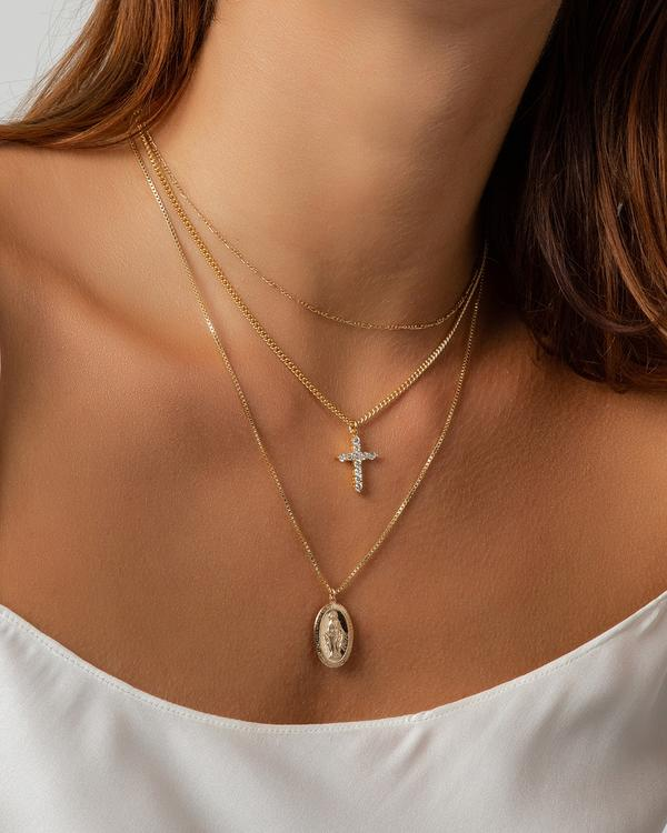 See Why Mary Pendant Necklace