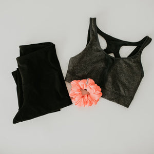 SCRUNCHIE active || flamingo