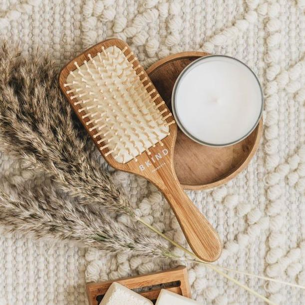 Bamboo Hair Brush || BKIND