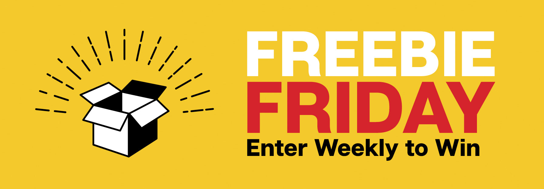 Freebie Friday. Enter Weekly to Win