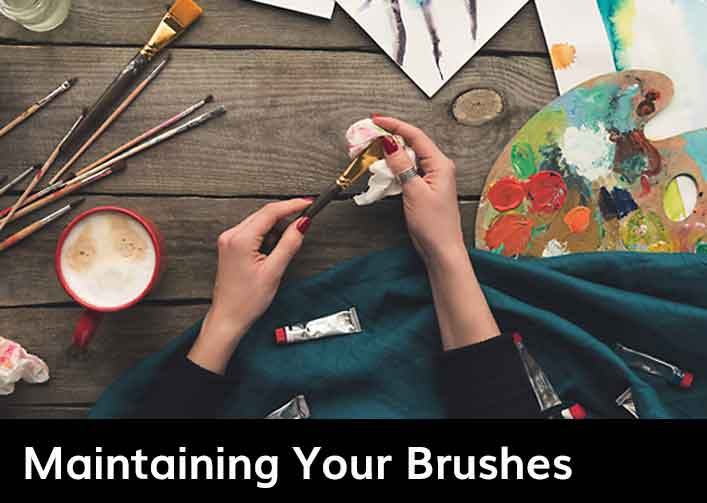 Maintaining Your Brushes