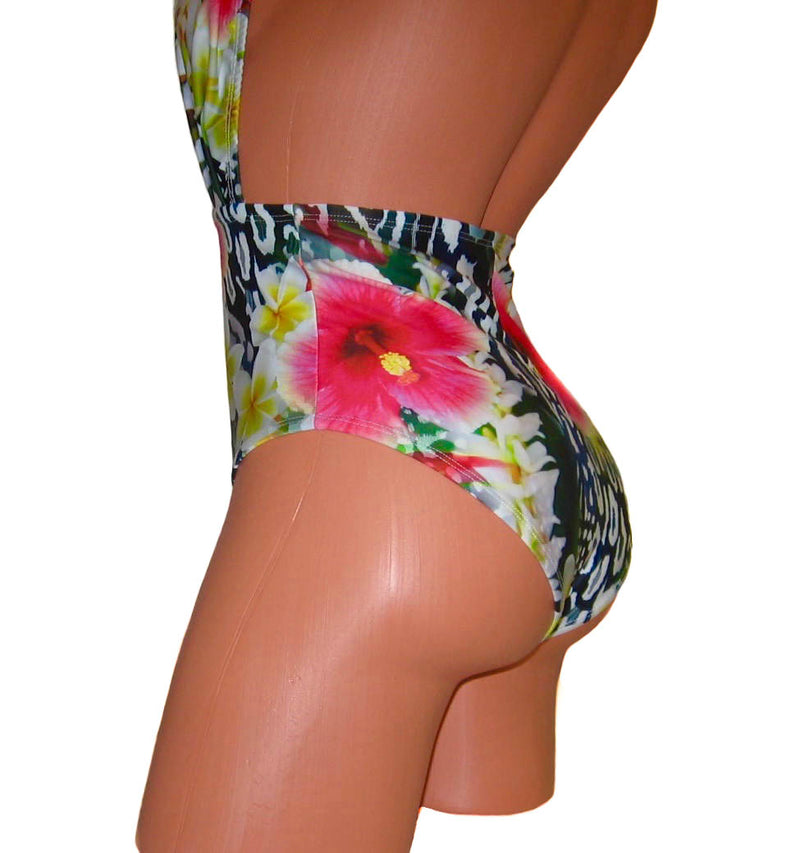 High Waist Pin-Up Retro Swimwear