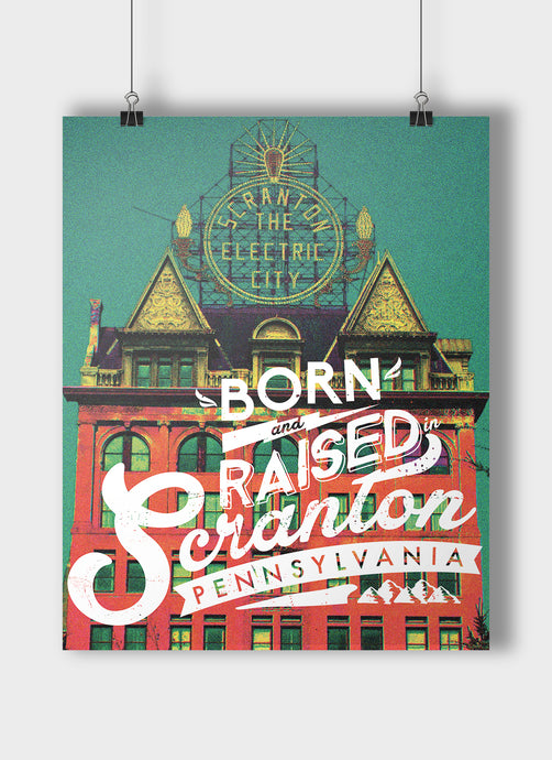 The Born & Raised Print