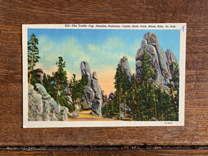 South Dakota Vintage Postcard - Needles Highway Custer State Park