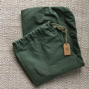 US Army Green Canvas Laundry Sack