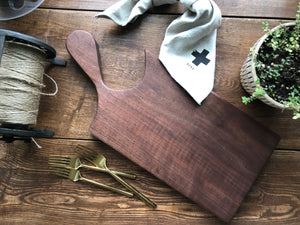 Handcrafted Black Walnut Serving Board