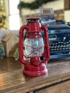 Small Red Vintage Lantern