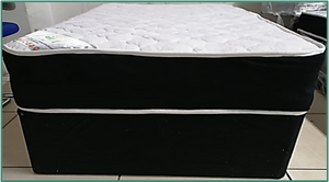 Comfy Sleep Bed - Springs (Mattress and Base Set)