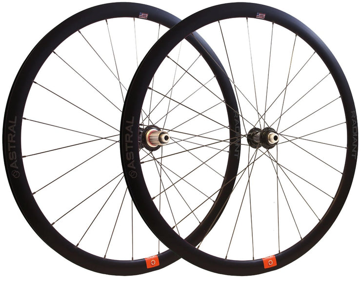 Radiant Disc Alloy Wheelset White Industries CLD Hubs