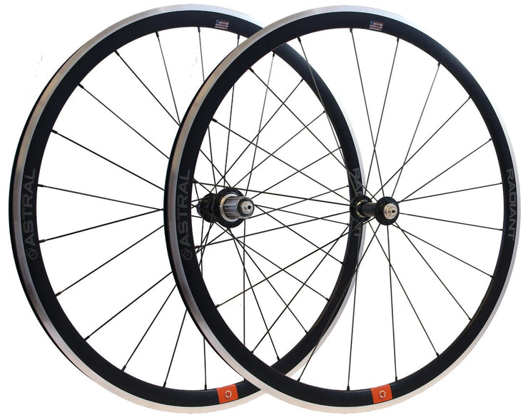Radiant Rim Brake Alloy Wheelset