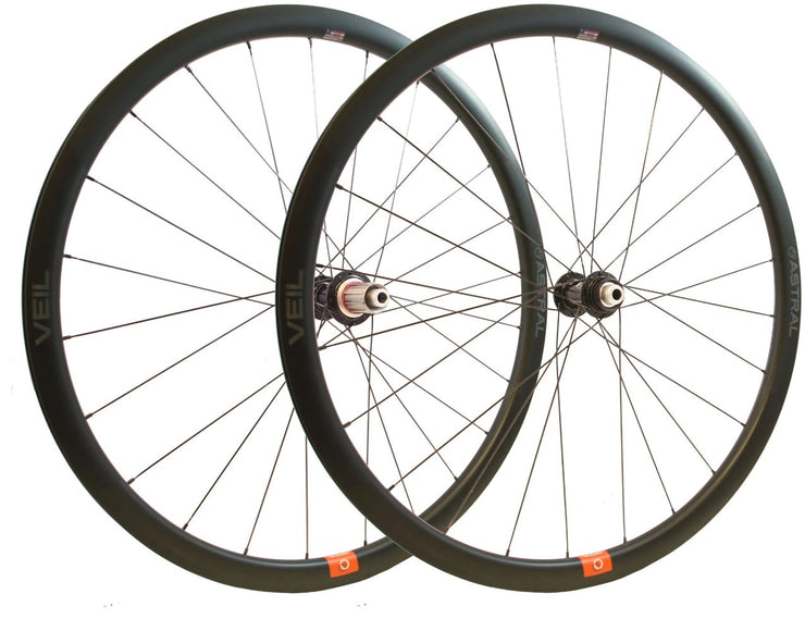 Veil3 Disc Carbon Wheelset White Industries CLD Hubs
