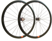Veil3 Disc Carbon Wheelset Approach Hubs by White Industries