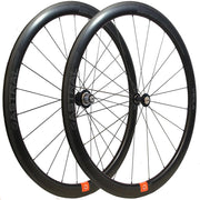 Veil4 Disc Carbon Wheelset White Industries CLD Hubs