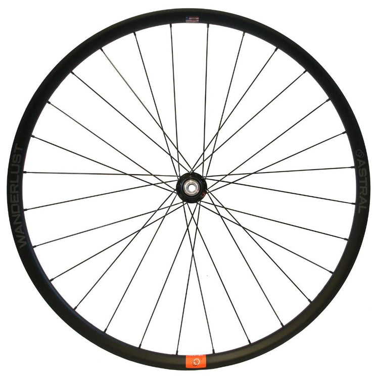 Wanderlust Carbon Wheelset (700c) Approach Hubs by White Industries