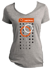 (Astral RIDERS) T-shirt - Women's cut