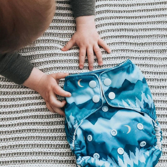 Diapering During a Pandemic: Why I Finally Decided to Try Cloth