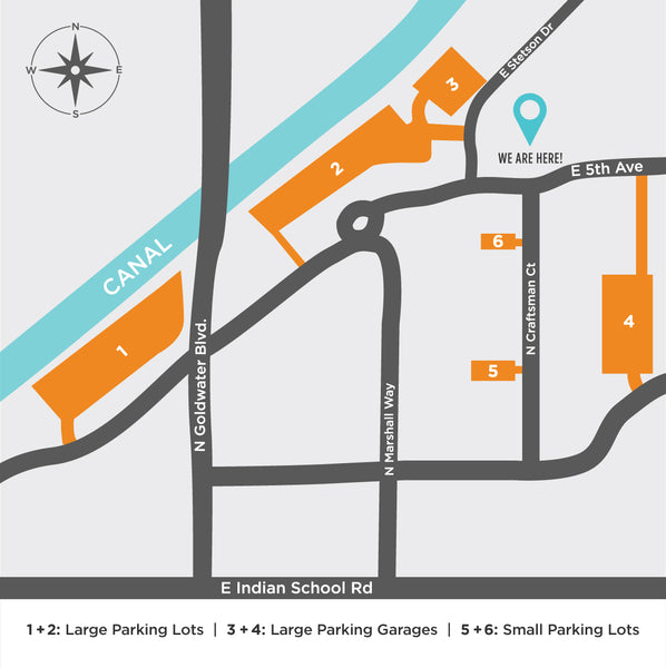 Zoolikins Mini Social Parking Map