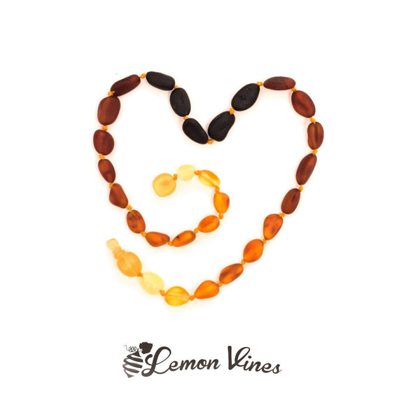 Lemon Vines Baltic Amber, 11 Inch - Pop Clasp