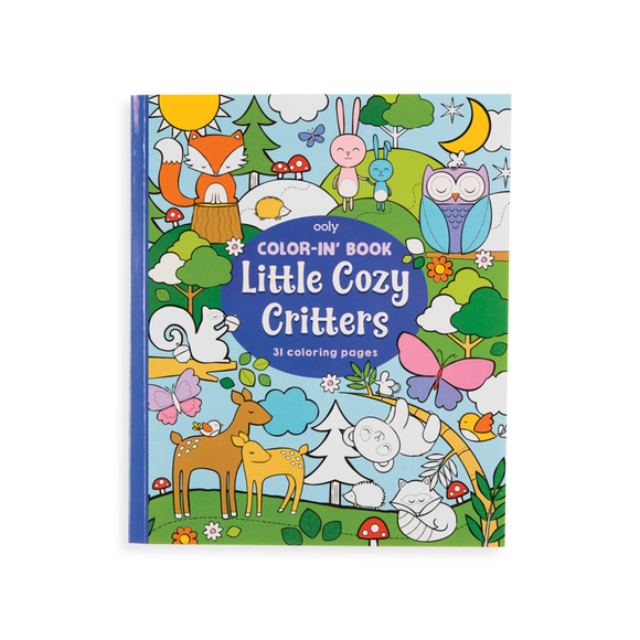 Color-in' Book, Little Cozy Critters