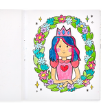 Color-in' Book, Princess and Fairies