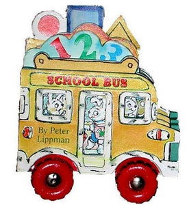 """School Bus"" Mini Wheels Book Series By Peter Lippman"