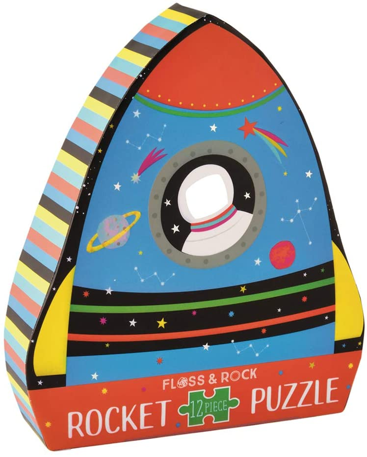 12 piece Rocket Jigsaw Puzzle