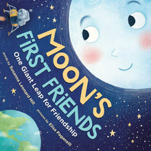 "Load image into Gallery viewer, ""Moon's First Friends"" Paperback Book By Susanna Leonard Hill"