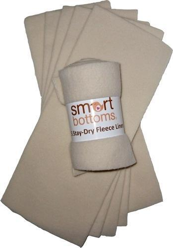 Smart Bottoms Stay Dry Liners, 5pk