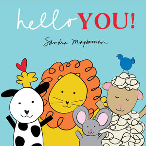 """Hello You!"" Board Book By Sandra Magsamen"
