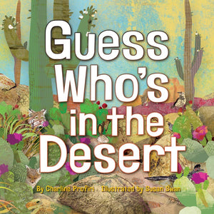 """Guess Whos In The Desert"" Book By Charline Profiri"