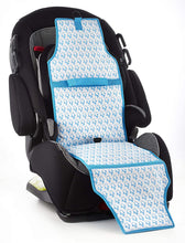 Load image into Gallery viewer, Cool Carats Car Seat Cooler, Blue Penguin