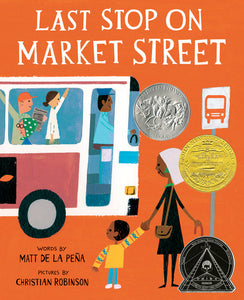 """Last Stop on Market Street"" Book By Matt De La Pena"